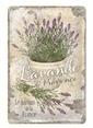 Nostalgic Art Lavende de Provence Duvar Panosu Renkli